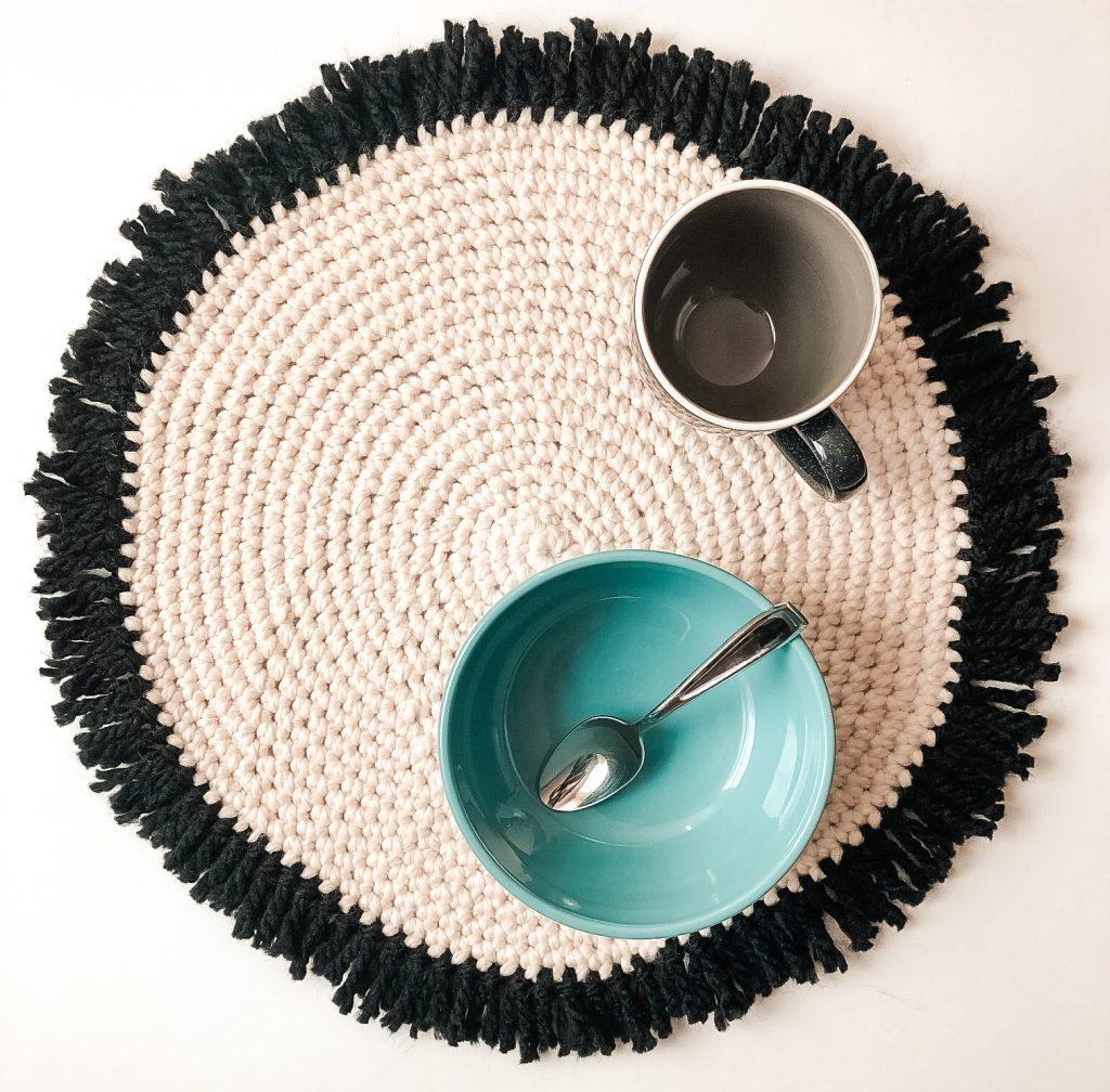 Free Crochet Round Placemats Pattern