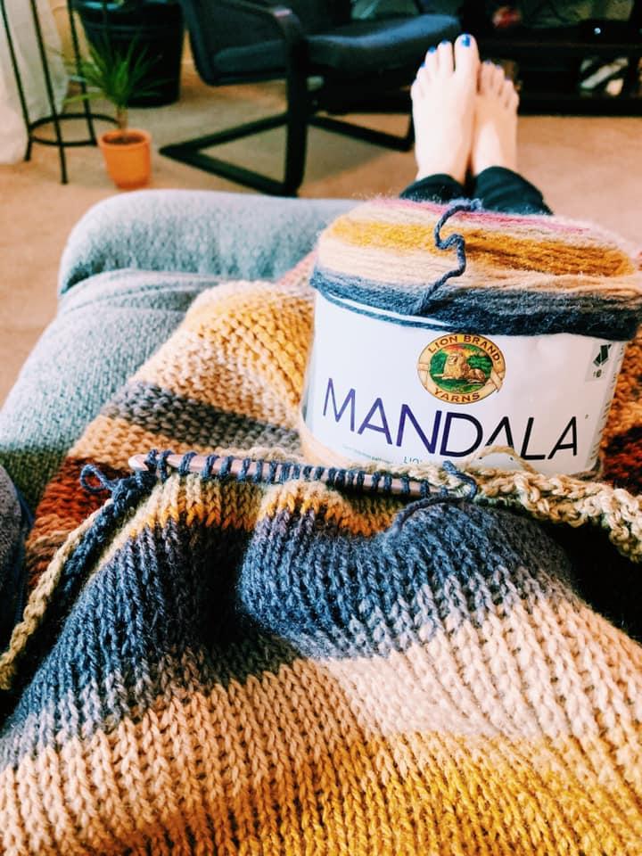 Mandala yarn crochet patterns