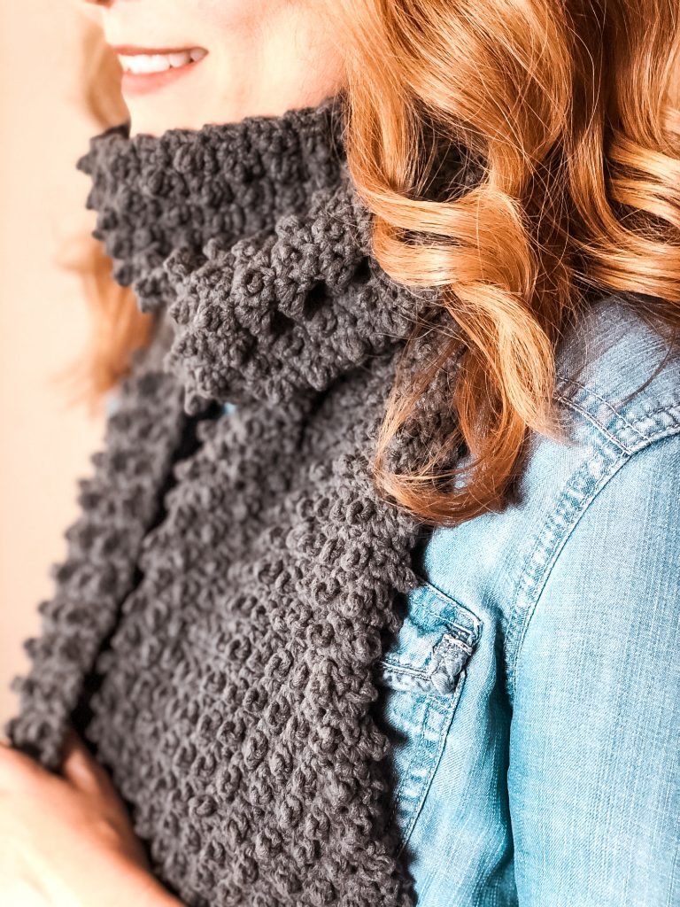 How to make the berry soft scarf