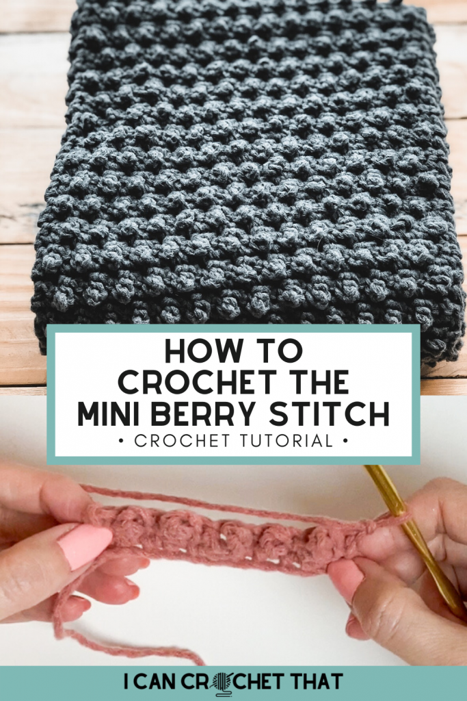 crochet puff stitches