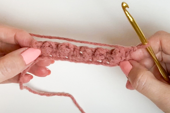 what the berry stitch looks like