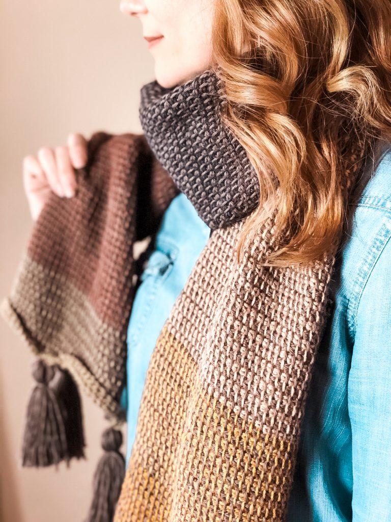 free tunisian crochet scarf pattern