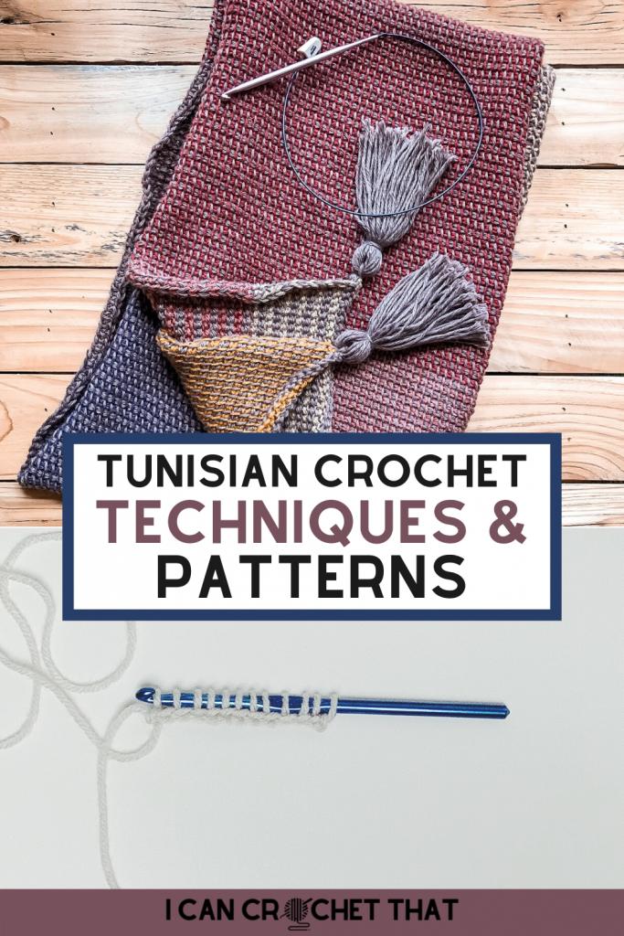 Tunisian crochet techniques