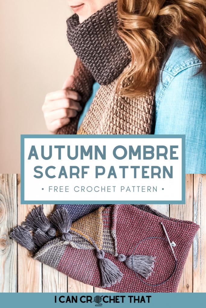 Free Crochet Pattern for Scarf
