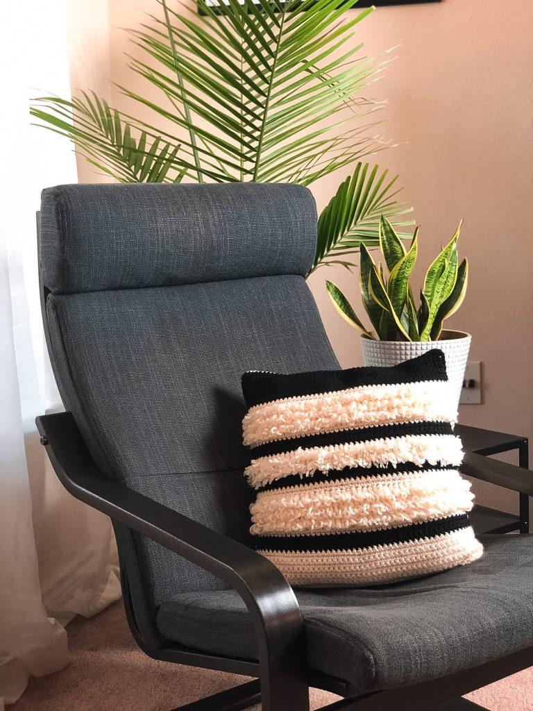 boho pillow crochet pattern