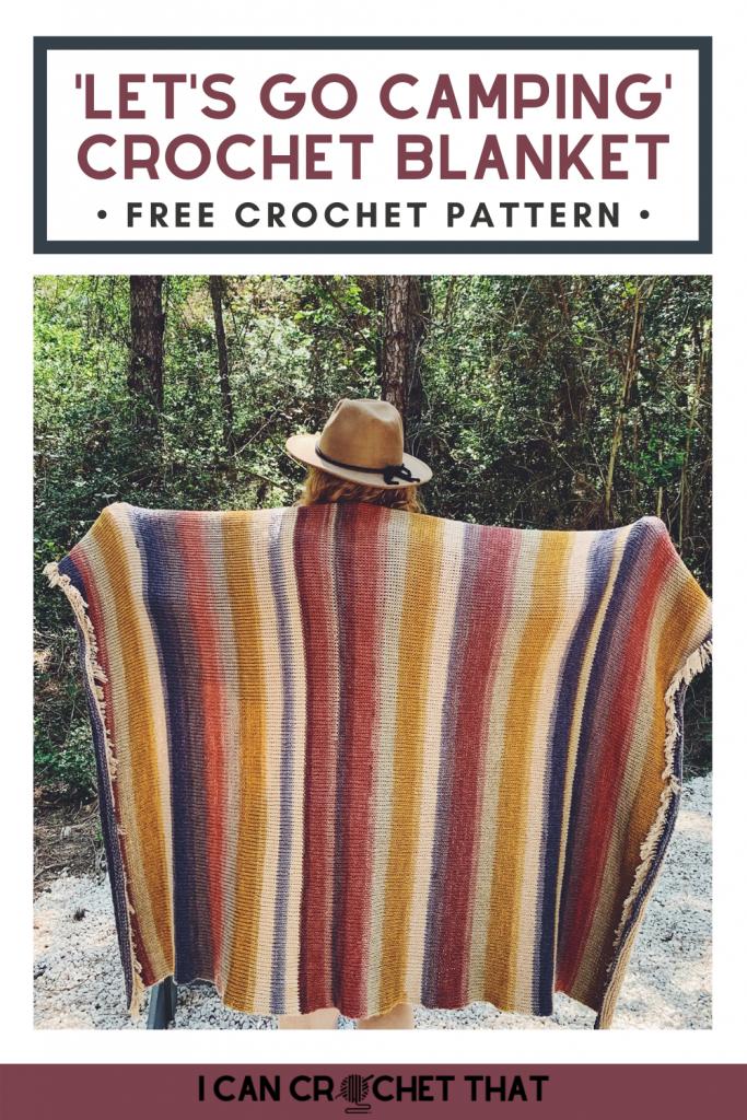 Tunisian crochet blanket pattern