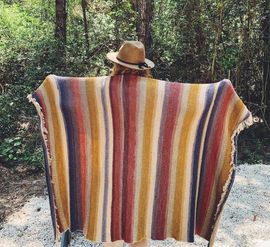 Free tunisian crochet camping blanket pattern