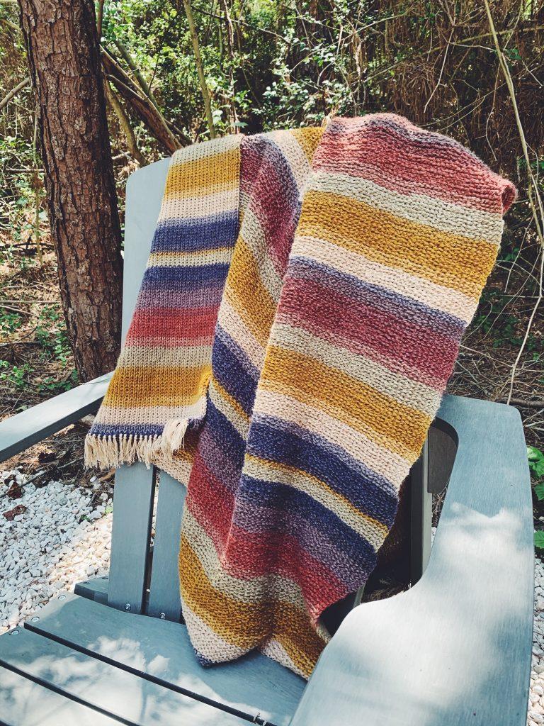 Free Crochet Camping Blanket Pattern