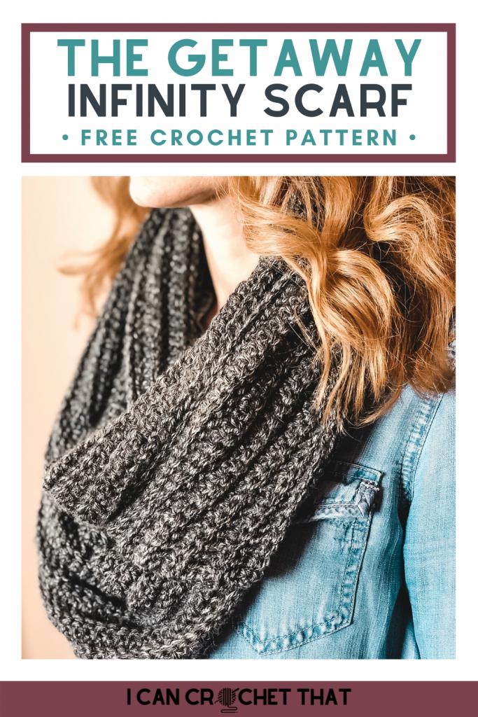easy crochet infinity scarf pattern
