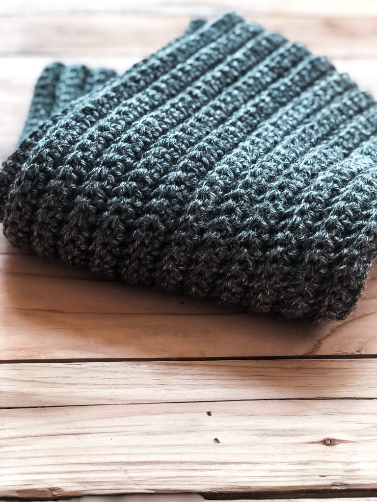 free crochet infinity scarf pattern