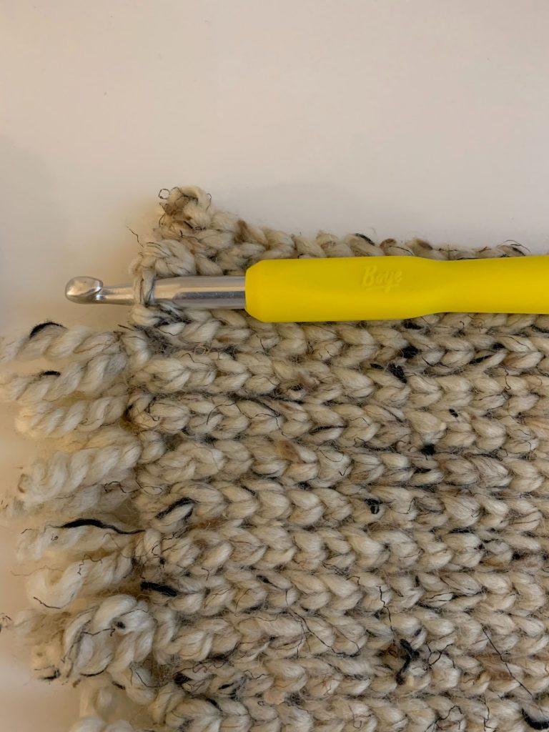adding fringe to rug