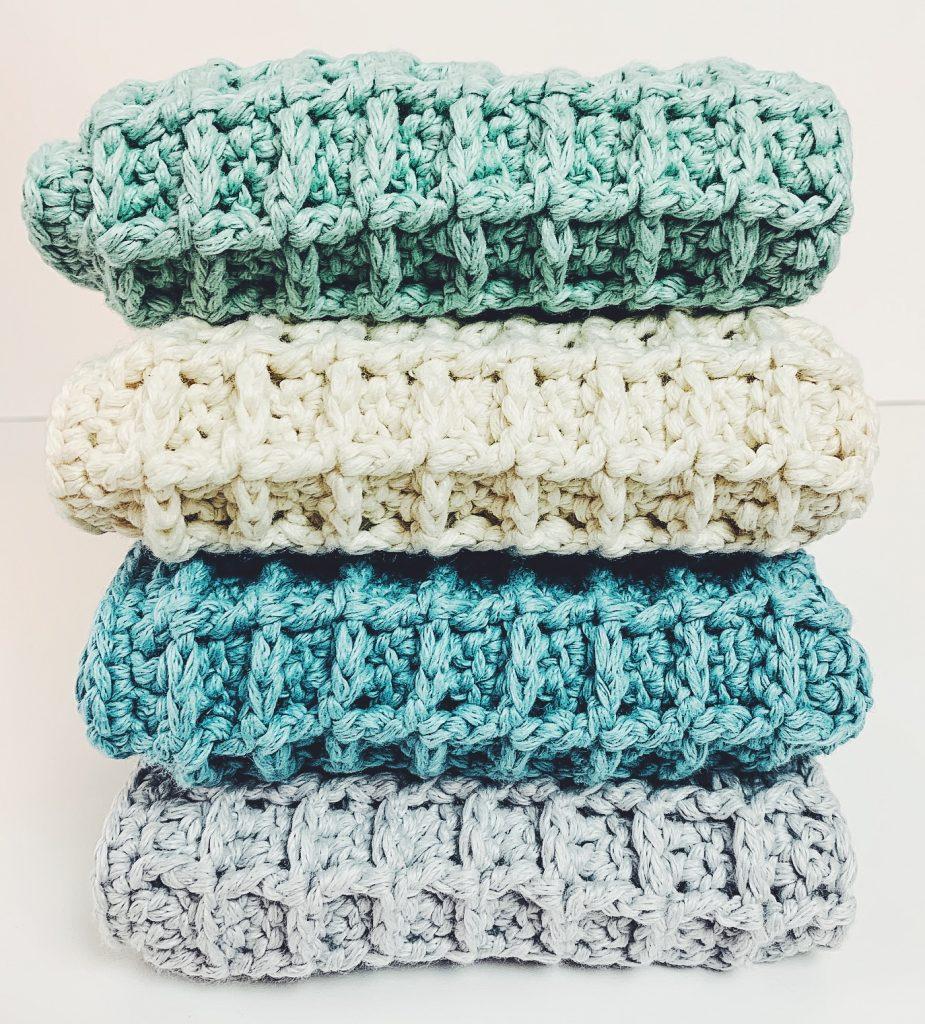 crochet dishcloth pattern