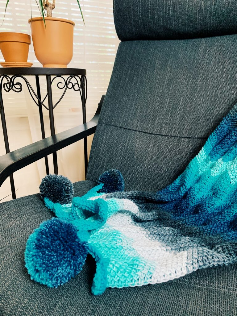 The Aloha Tunisian Crochet Blanket
