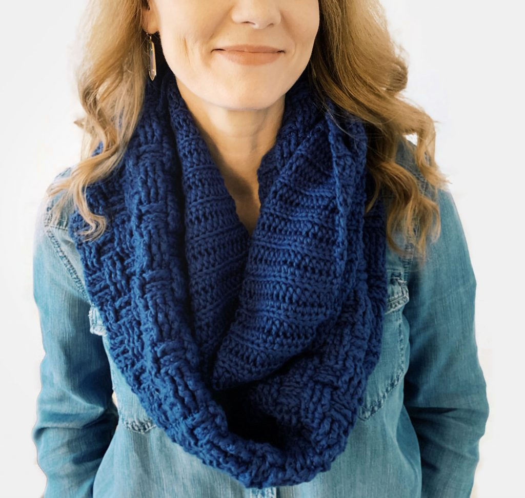 I Can Crochet That infinity scarf pattern