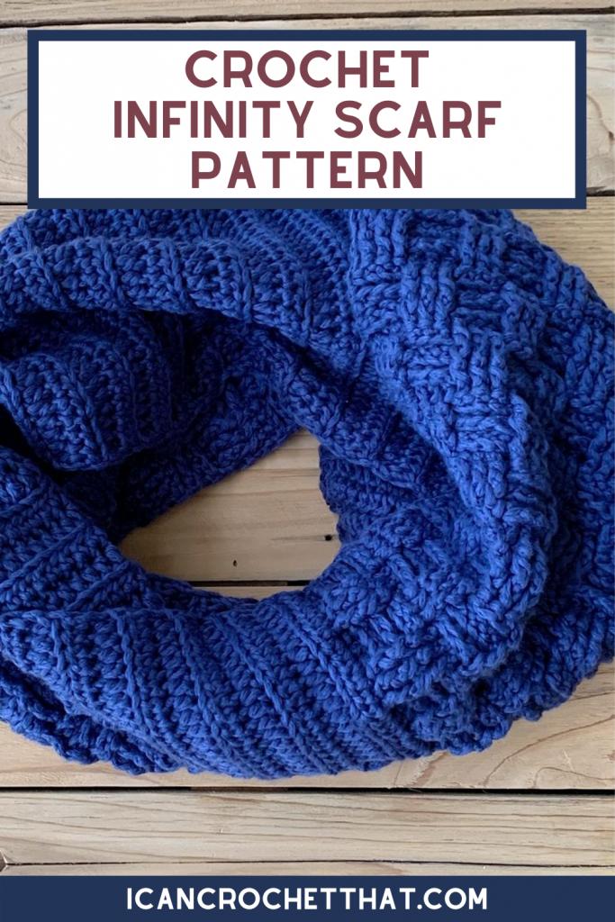basketweave stitch scarf pattern