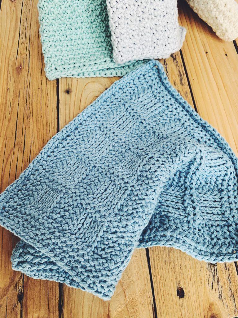free tunisian crochet washcloth pattern