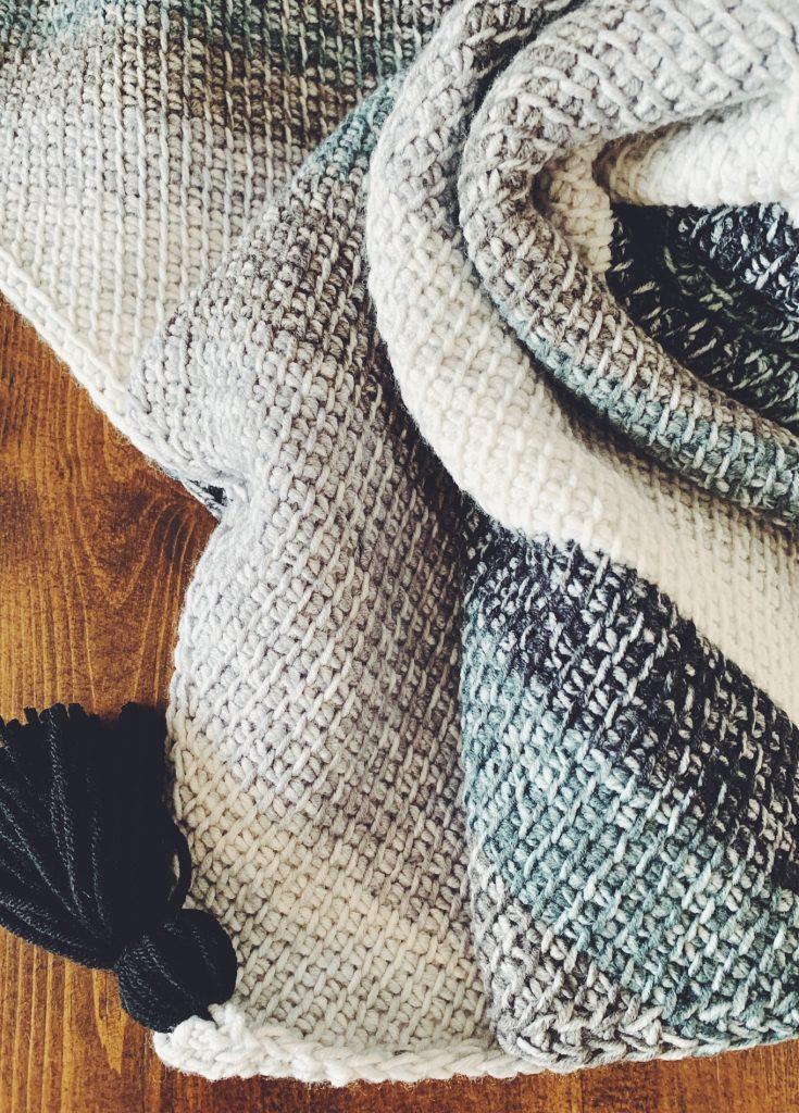 Tunisian Crochet Baby Blanket Pattern I Can Crochet That