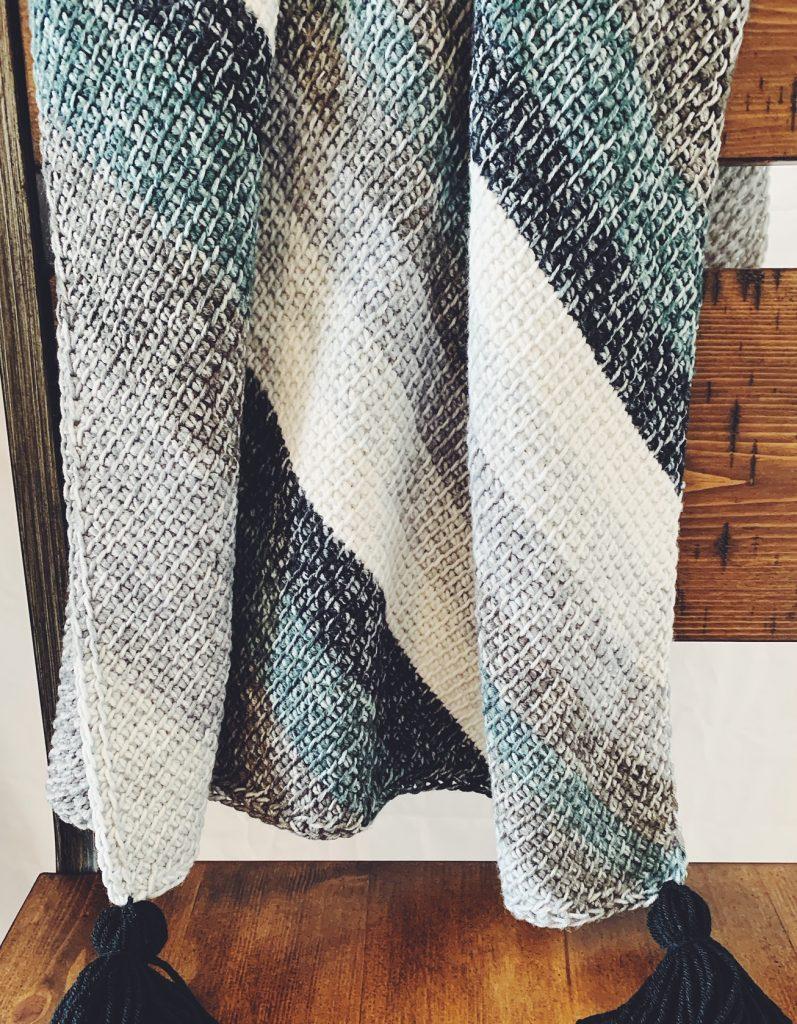 free tunisian crochet baby blanket pattern