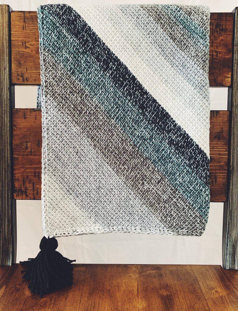 easy crochet baby blanket pattern