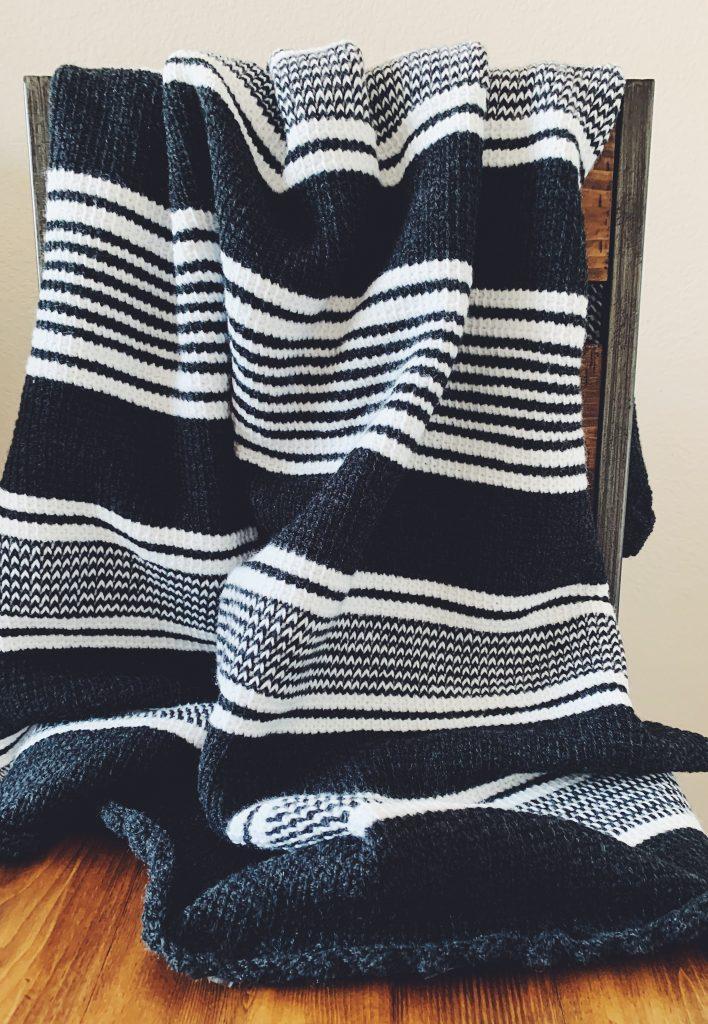 The Nordic Tunisian Crochet Blanket