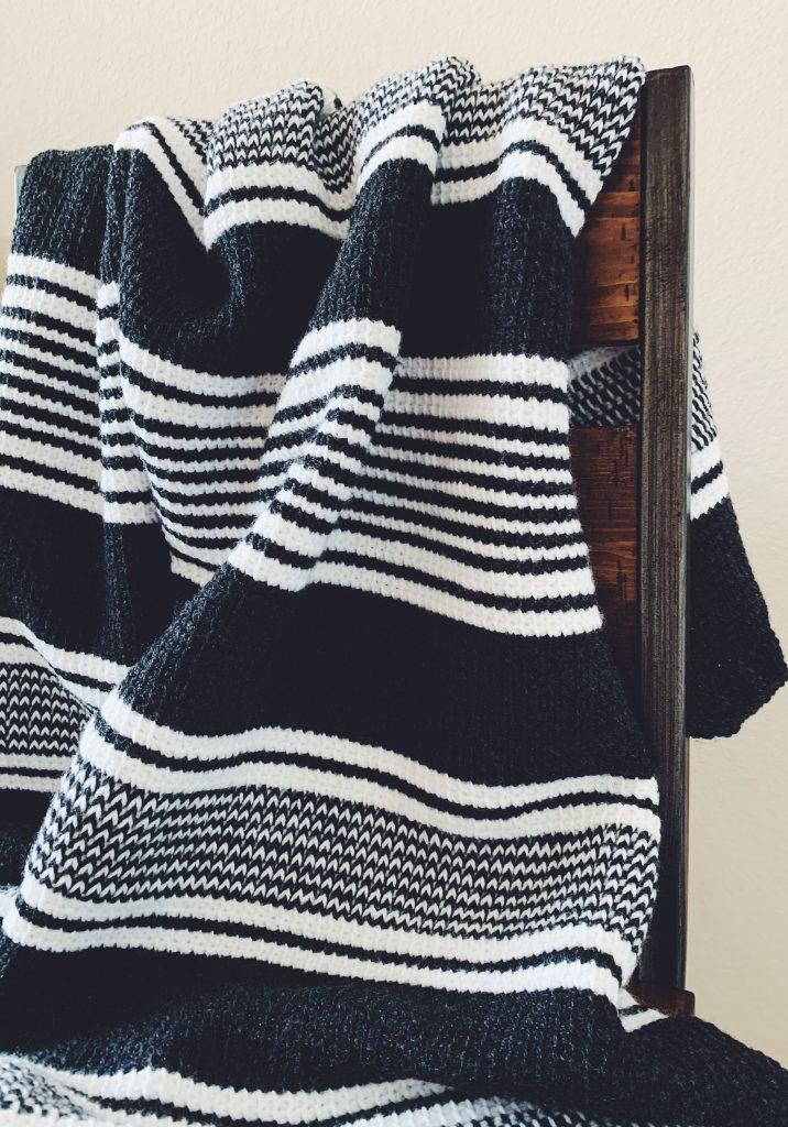 crochet nordic blanket