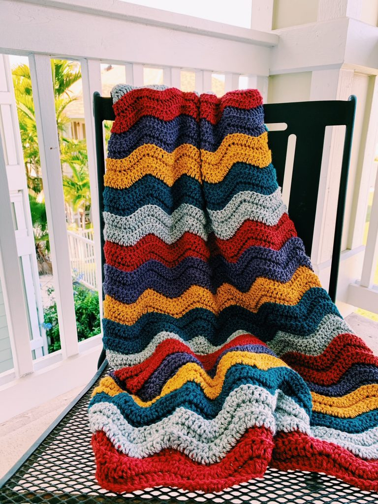 easy crochet blanket pattern