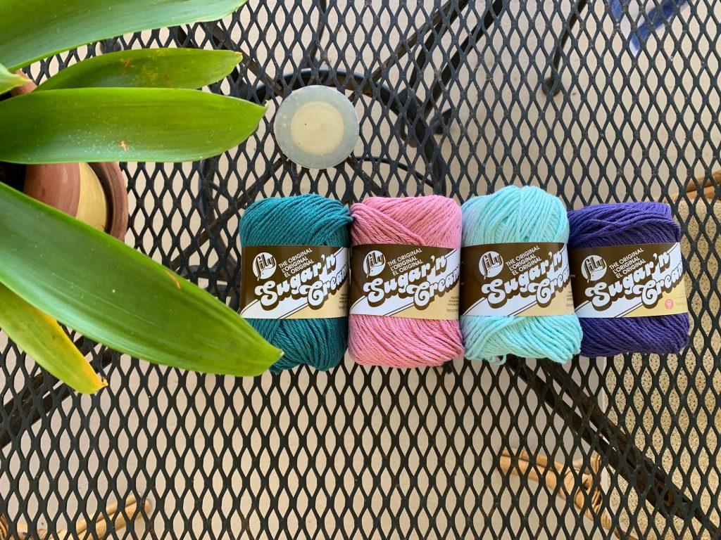 Lily Sugar'n Cream yarn
