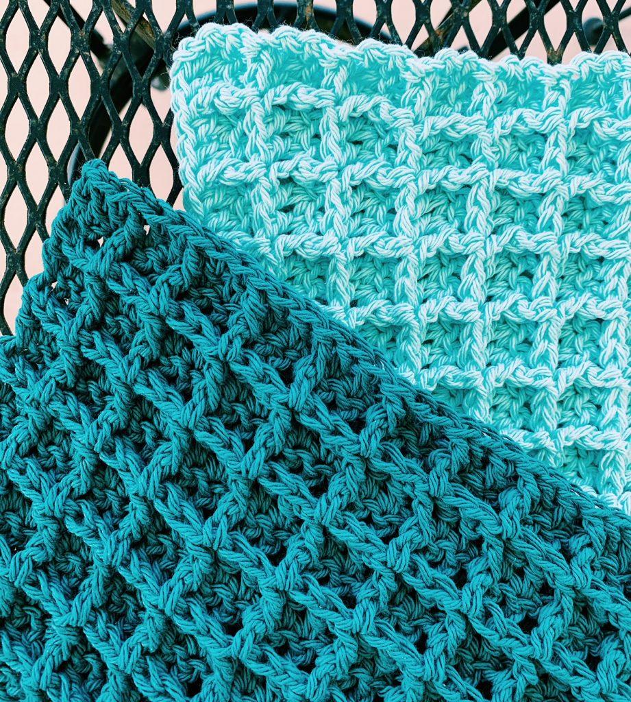 crochet dishcloths