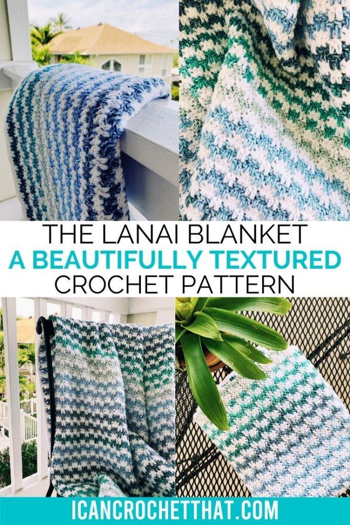 the lanai blanket crochet pattern tutorial