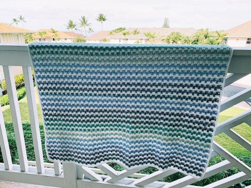 mandala yarn crochet blanket pattern