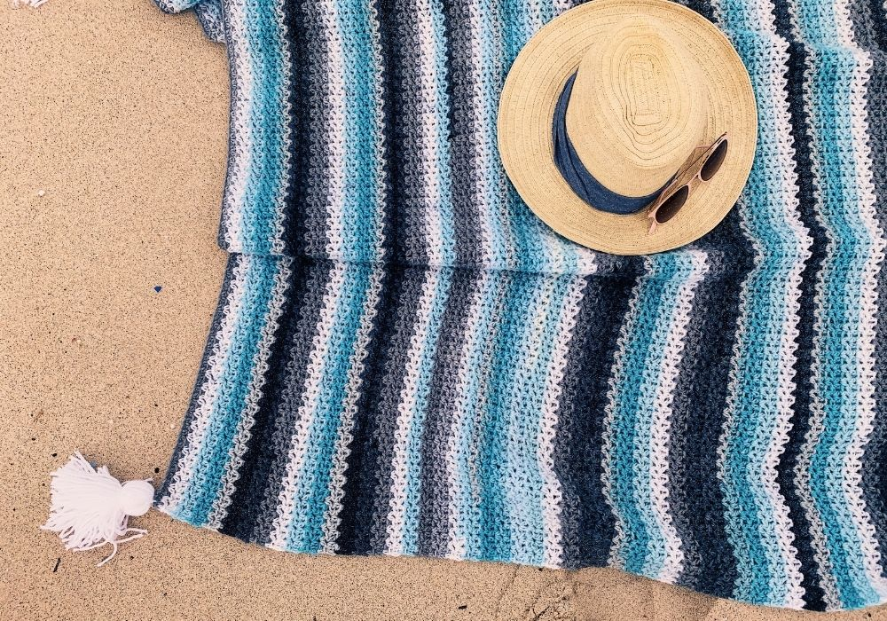 the kona coast crochet blanket