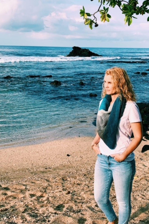 the seaside crochet shawl pattern