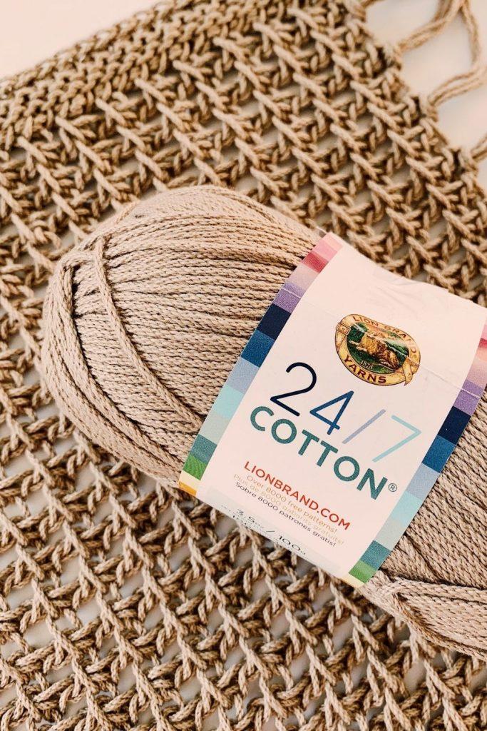 24/7 cotton yarn crochet pattern