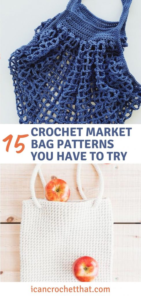 15 crochet market bag patterns you have to try