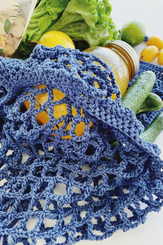 free crochet french market bag pattern