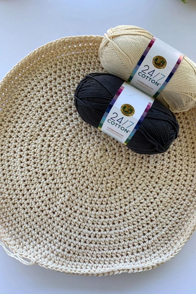 cotton yarn for crochet placemats
