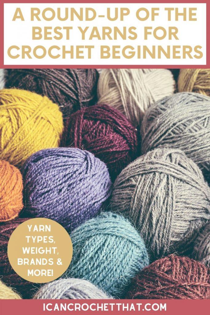 best yarns for crochet beginners