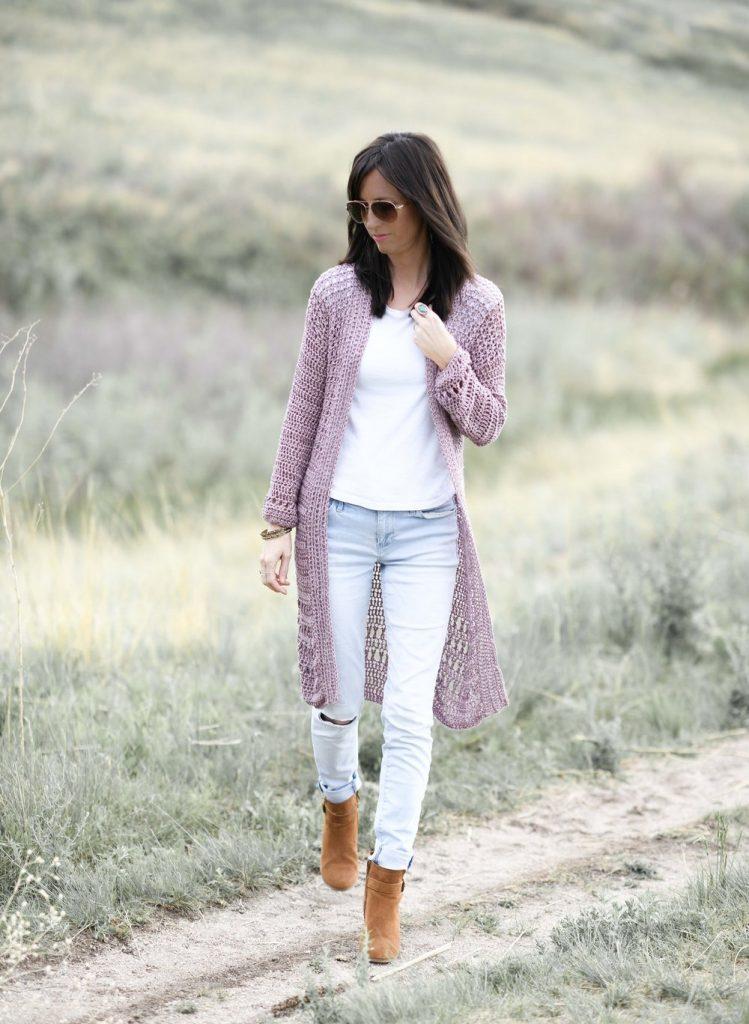 long crochet cardigan pattern for summer