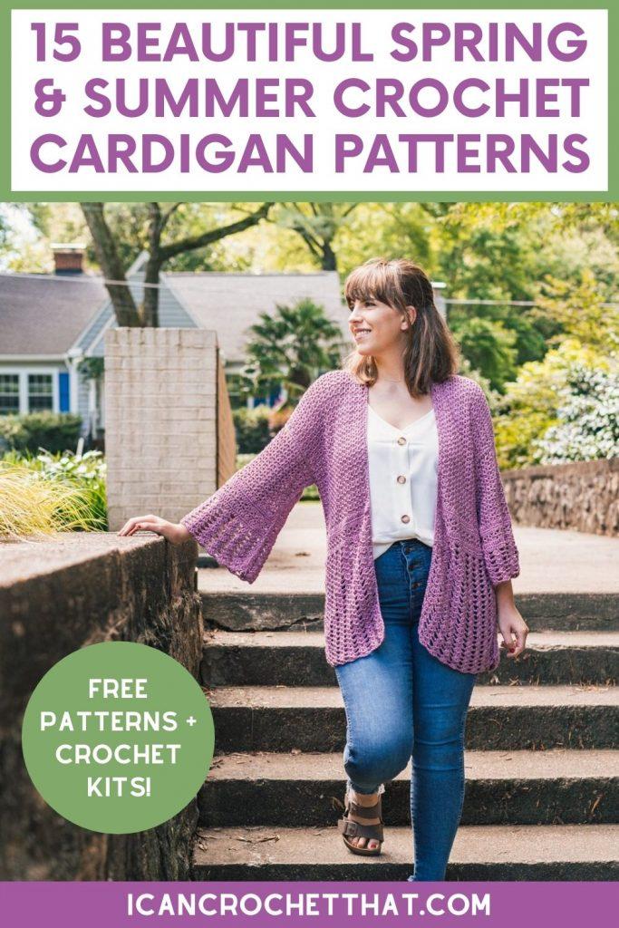 summer crochet cardigan patterns