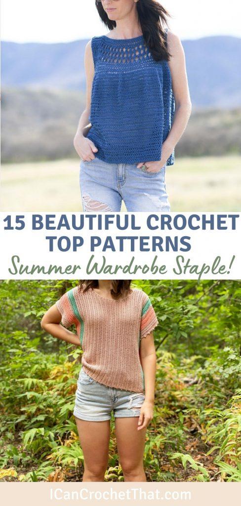 beautiful crochet top patterns for summer
