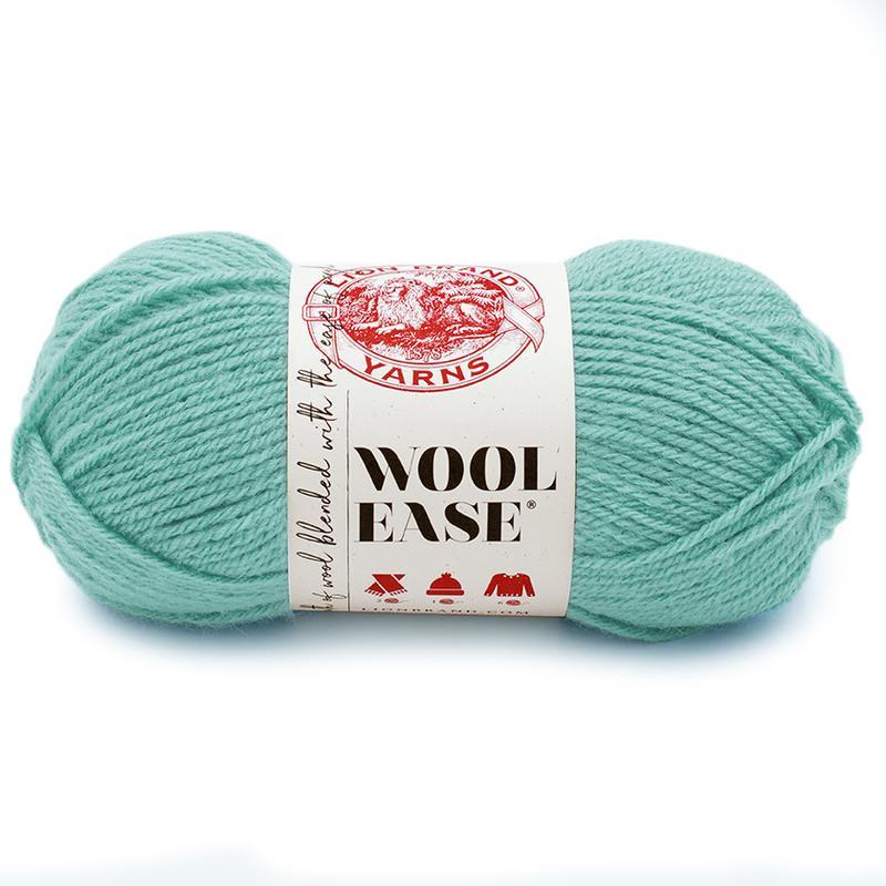 lion brand wool ease yarn