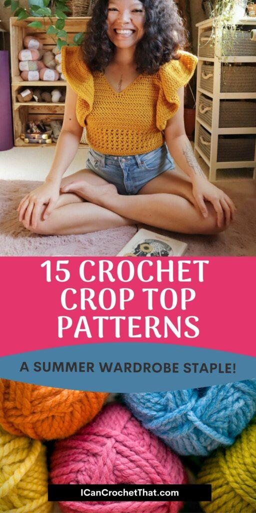 crochet crop top patterns