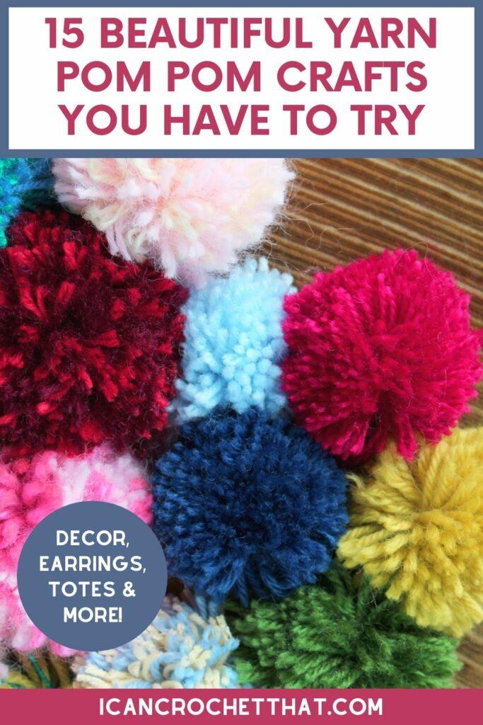 yarn pom pom crafts