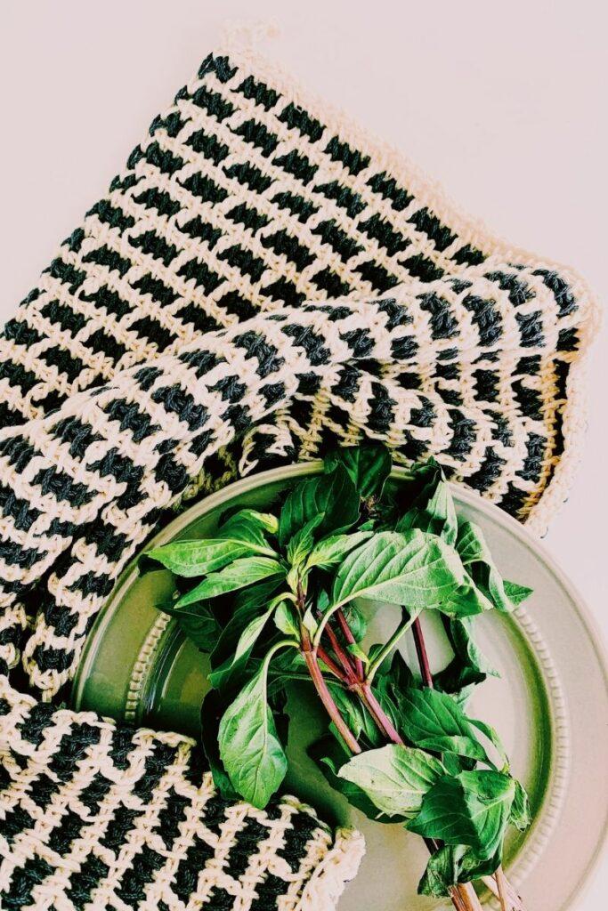 crochet towel pattern