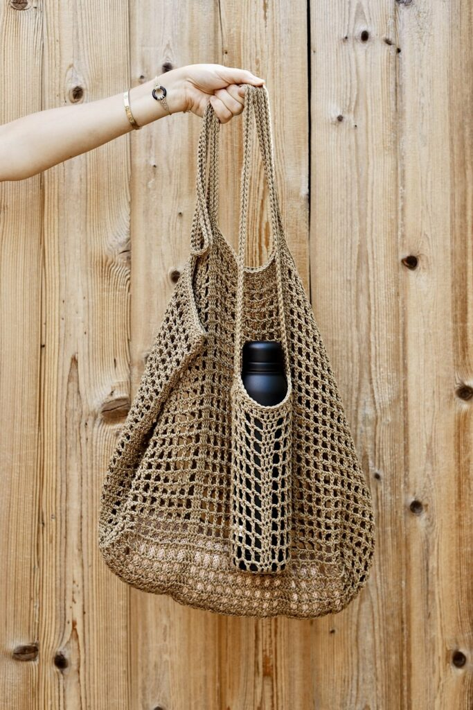 crochet beach bag pattern from two of wands