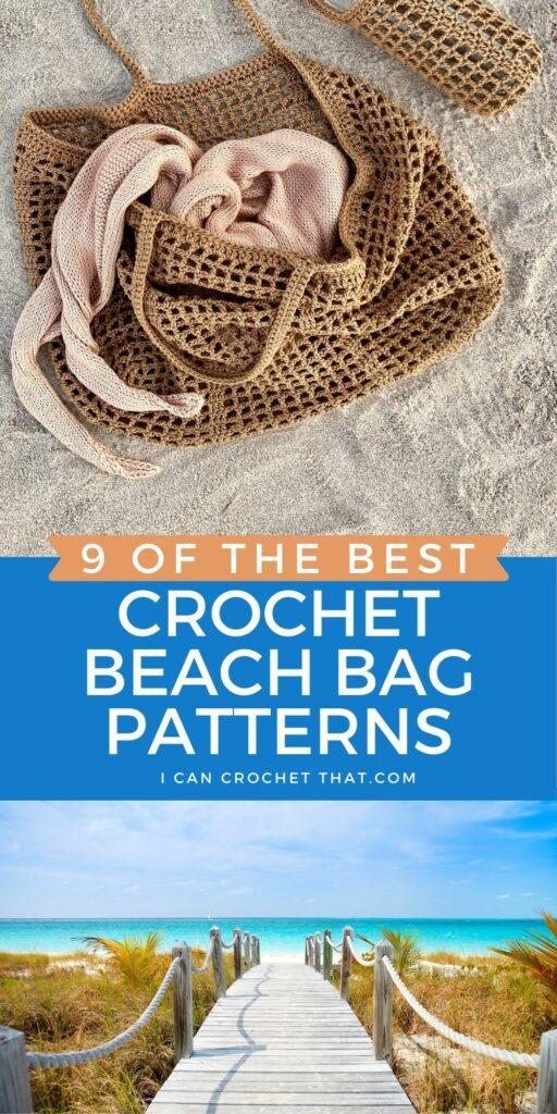 crochet beach bag patterns free