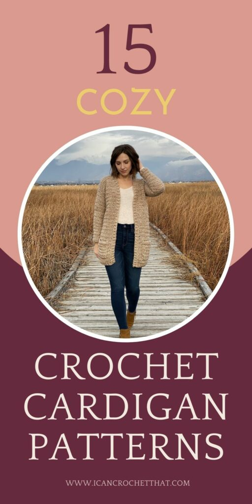 the coziest crochet cardigan patterns for fall and winter