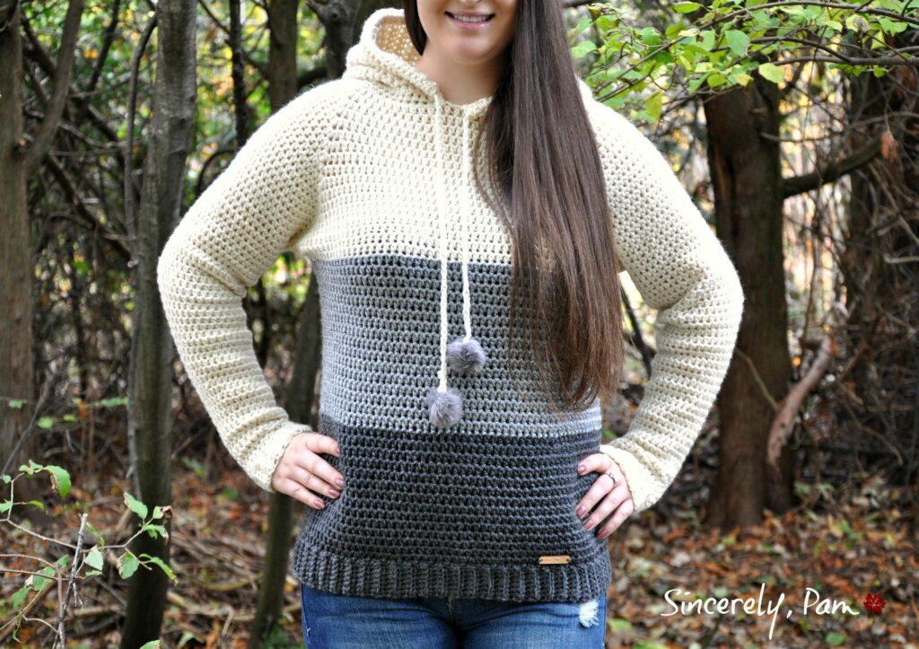 the everyday crochet hoodie pattern