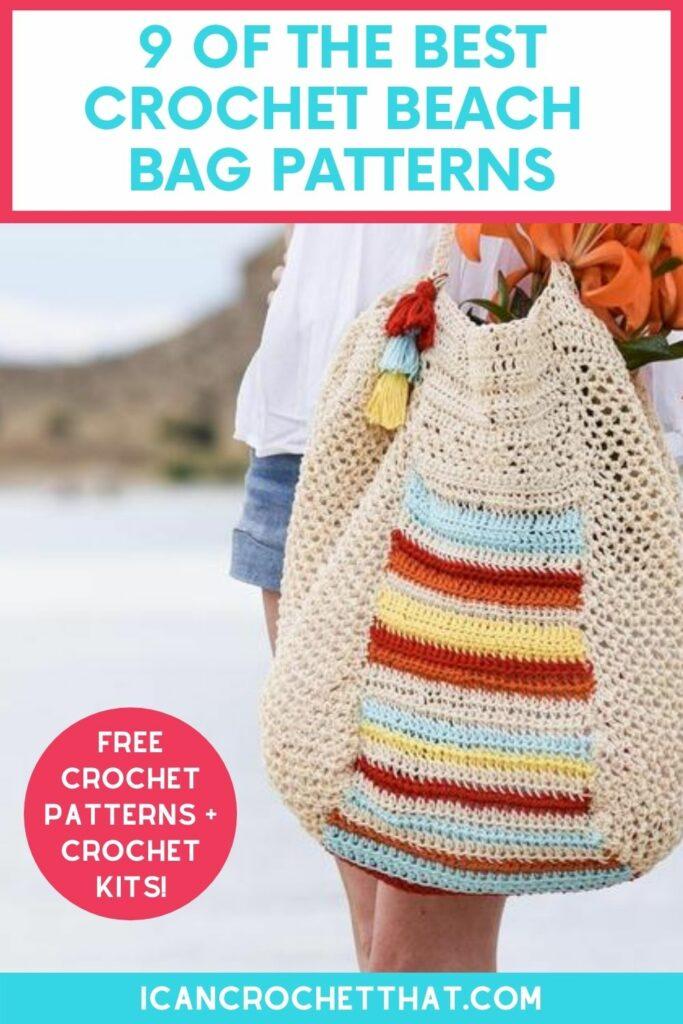 free crochet beach bag patterns