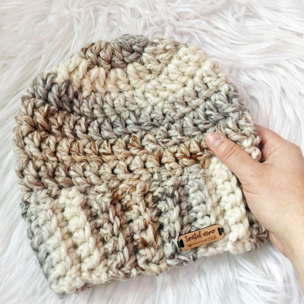 The Jeanie Crochet Beanie Pattern